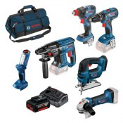 Bosch, 18V Cordless Power Tool Kit, 4Ah 0615990K9F