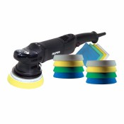 RUPES LHR15ES/STF RANDOM ORBITAL POLISHER LHR15ES BIGFOOT KIT STF  + 3 YEAR WARRANTY