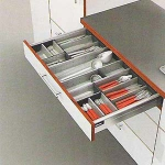 Blum 3 Tier wide insert (280mm w) for Tandembox 500mm deep