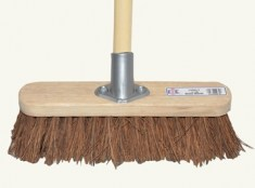 Broom Bassine 30cm (12in) Head with 48 in handle FAIBRBASS12H