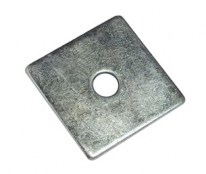 Square Plate Washer BZP 50 x 12mm Pack of 5 FAIFXSPW50B