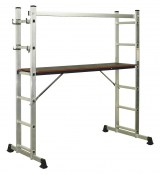 Sealey Aluminium Scaffold Ladder 4-Way EN 131 ASCL2