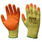 Pairs of Scan Knitshell Latex Palm Gloves Size 9 Extra Large SCAGLOKSPK12