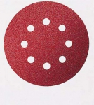 080 Grit Random Orb Sandpaper 125mm - Wood