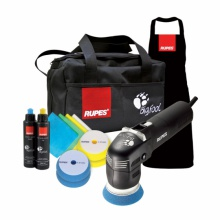 RUPES LHR75E/DLX Bigfoot MINI RANDOM ORBITAL POLISHER LHR75E 230V KIT DLX  -  3 YEAR WARRANTY