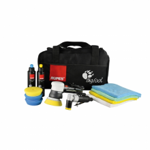 RUPES LHR75/KITSR  PNEUMATIC MINI RANDOM ORBITAL POLISHER LHR75 SPOT REPAIR KIT WITH LD30 + 3 YEAR WARRANTY