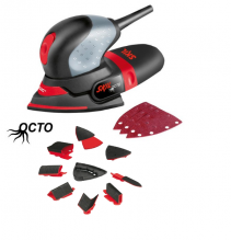 Skil 7207 AM (Octo) Multi Sander + Accessories